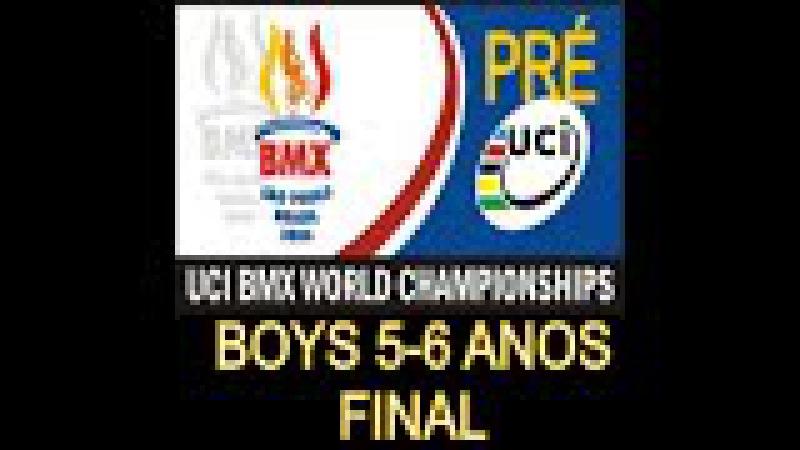 2006 UCI BMX Pré World Championship BRASIL Final Boys 5 6 anos