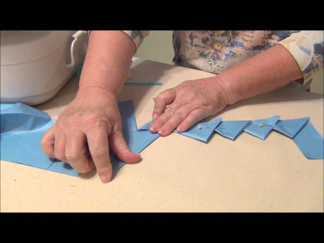 HOW TO MAKE CONTINUOUS PRAIRIE POINTS