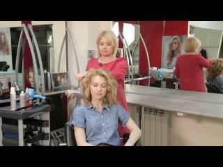 Видеоблог Виктории Литвиненко: локоны в домашних условиях