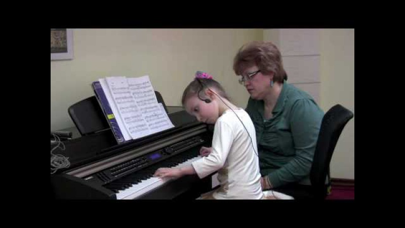 Урок с Вероникой Свободное фортепиано Часть 1 5