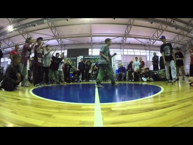 КРАСАВВА (DOMINANT) vs BAMBLEBEE | 1/8 FINAL | YOUNG STAR BATTLE | ТУЛА | 2015