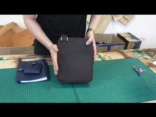 Видеообзор сумки наплечной KREPKO от мастерской KREPKO