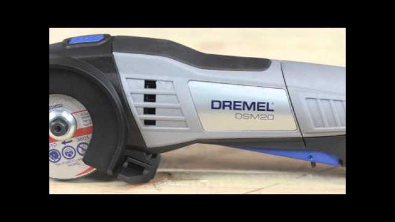 Компактная пила DREMEL DSM20 Saw Max