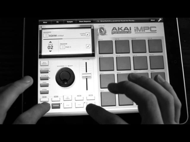 Kneticmusic x iMPC x iPad beatmaking