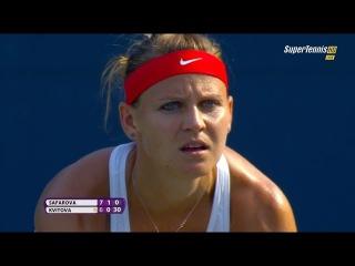 Lucie Safarova vs Petra Kvitova FINAL New Haven Cup 2015 Part-2 [FULL HD]