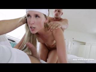 Private_ jenny simons naughty nurse jenny simons treats two patients to all he