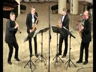Volodymyr Runchak - Morse Code musical (and more) interpretation of signs for four saxophones