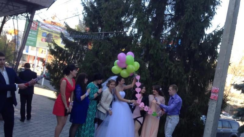 Свадьба Артема и Ирины Базылюк Курск 25 04 14