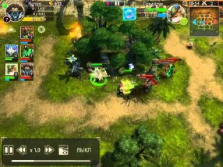 HEROES OF ORDER CHAOS 11. Monkey and Fox. 2vs3. Silver game