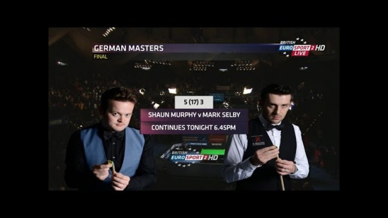 Mark Selby v Shaun Murphy Final 2015 German Masters Aftersession