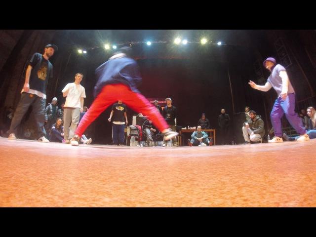Lamani tanci hip hop pro 2x2 Komix U'S vs Amarock lonie vs Gleb Keysie Final