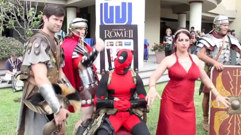 Deadpool vs Comic Con 2013