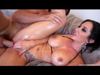 Jayden Jaymes (big tits, boobs, oiled sex, porno, hardcore)