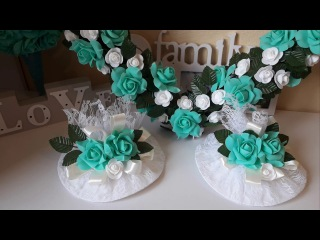 Свадебные тарелки своми руками  Marine DIY Guloyan