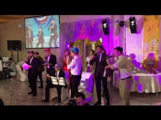 Свадьба Саши и Эллы Шахназарян. Поздравление друзей.