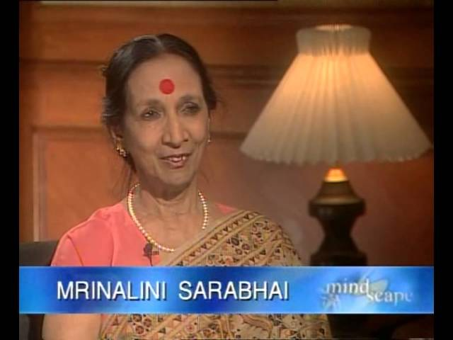 CONVERSATION MRINALINI SARABHAI