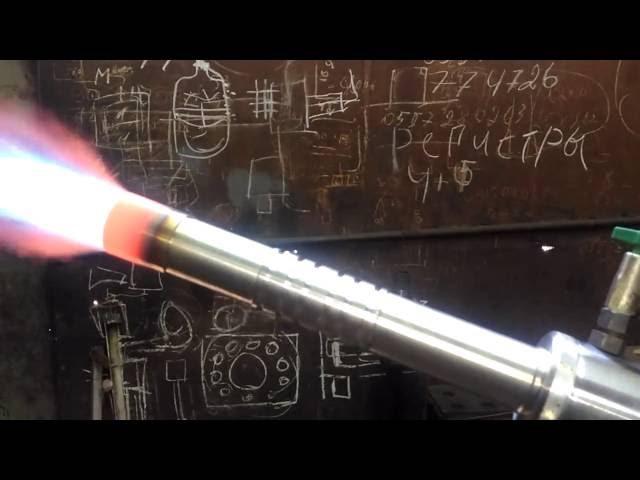 видеообзор газовой горелки с принудительным поддувом