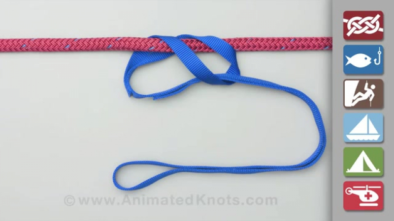Girth Hitch Strap Hitch How to Tie the Girth Hitch Strap Hitch