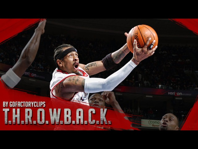 Throwback: Allen Iverson Full Highlights vs Hawks 2003.11.29 - 50 Pts, AI ON FIRE!