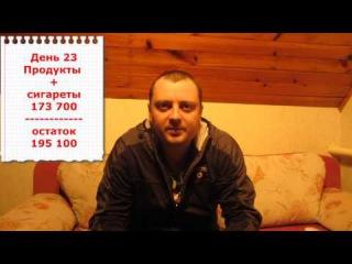 Как прожить на три миллиона белорусских рублей.День 23