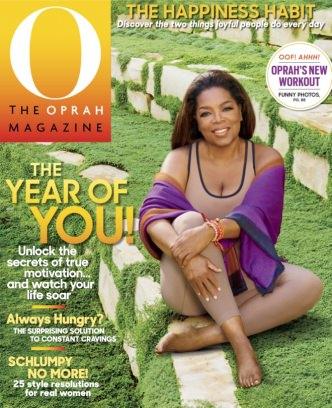 O The Oprah Magazine - January 2016  USA