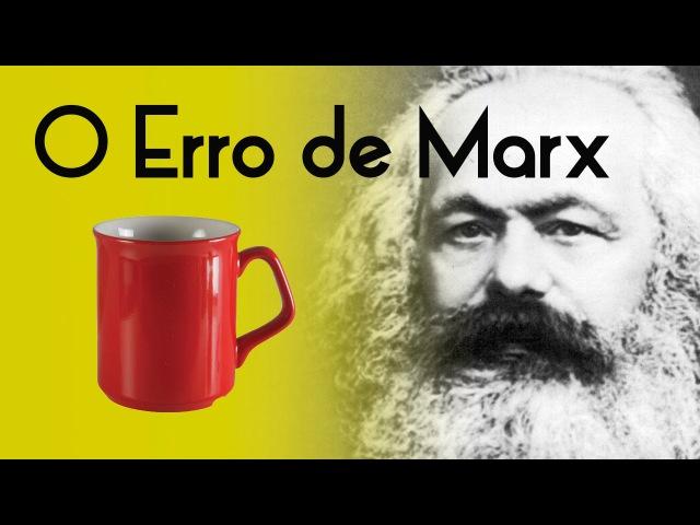 O Erro de Marx e a Caneca - Teoria de Valor e a base da filosofia marxista