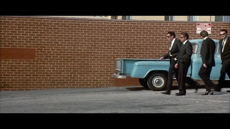 Бешеные Псы | Reservoir Dogs (1992) Вступительные Титры | Интро | George Baker Selection - Little Green Bag