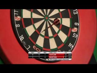 Phil Taylor vs Stephen Bunting (Sydney Darts Masters 2015 / Quarter Final)