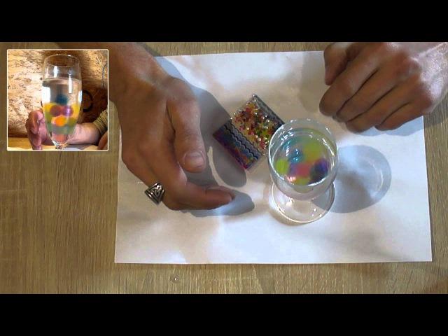 Аквагрунт, Водные шарики или гидрогель, аквагель из Китая