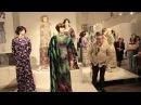 Aleksandra Vasiļjeva ekskursija izstādē Dumpis buduārā 1970 gadu mode krievu valodā