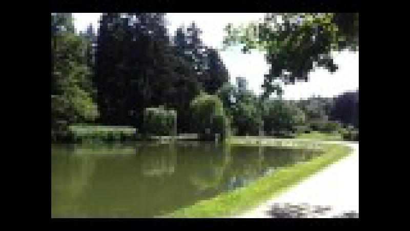 Парк и замок Пругонице в Чехии ч. 4