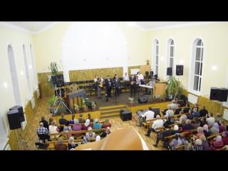 Христианская цыганская группа в п. Навля, песня о маме