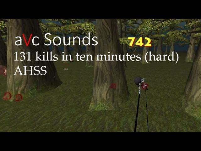 [AoTTG] AHSS 131 kills in ten minutes (hard)