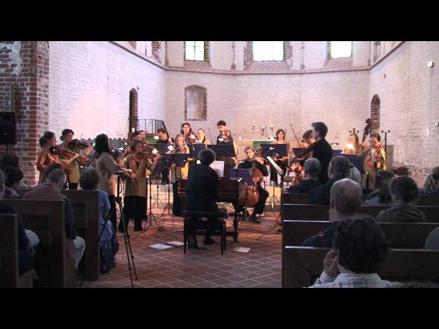 EUBO 2012 performs Charpentier Pour un Reposoir H508