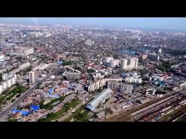 Город Краснодар с высоты птичьего полета (19.04.2014)
