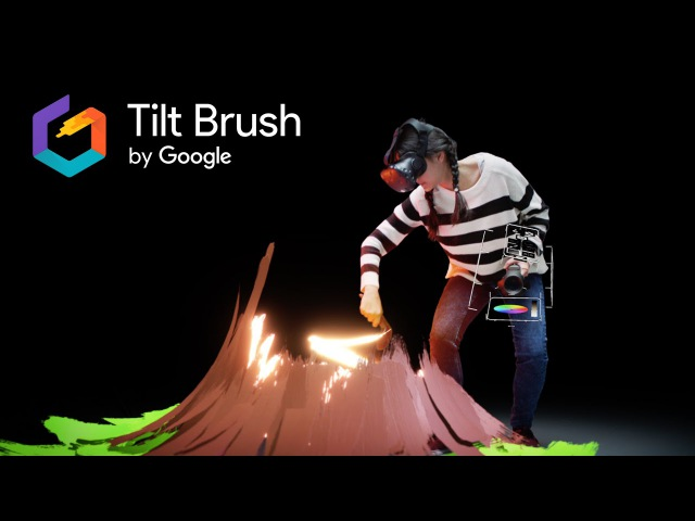 Tilt Brush Painting from a new perspective