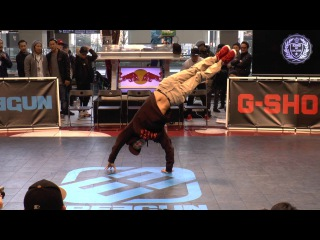 HIDEKI(WASEDA BREAKERS) JUDGE DEMO / King Of College 冬の陣 2016 BREAK DANCE CREW BATTLE