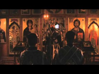 Архиерейское богослужение в Великую Субботу