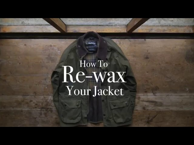 How to re-wax your Barbour jacket - Barbour's step-by-step guide