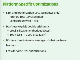 Optimizing performance in qt-based applications [3 of 3]
