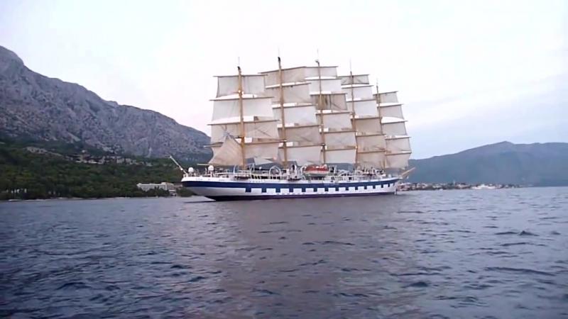 Самое большое парусное судно в мире - The largest sailing ship in the world