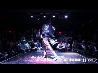 Popping Judge Demo:ARTSHOW (MM POPPERS & CREATION DANCERS) | 20151010 College High  STAGE2