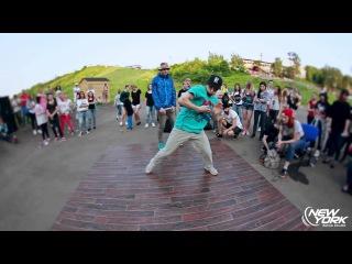 HIP-HOP 1X1 BATTLE-8 | OPEN AIR 2015 | New York Dance Studio 2015 HD