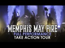 Memphis May Fire - Full Set 3 LIVE! Take Action Tour