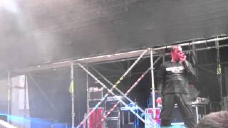 Agonoize Femme Fatale @Darkflower Live Night Open Air 05 07 2014