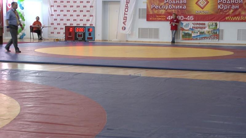 Сыктывкар 42 кг Алпеев Н. VS Насрулаев И.