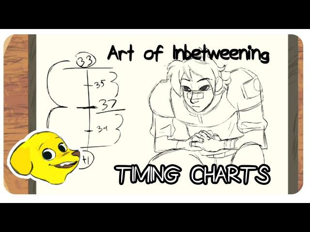 SBW - The art of Inbetweening: Timing Charts
