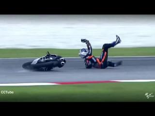Мото падения на гонках _ moto crash