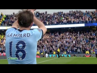 The historic and touching moment. lampard and chelsea!