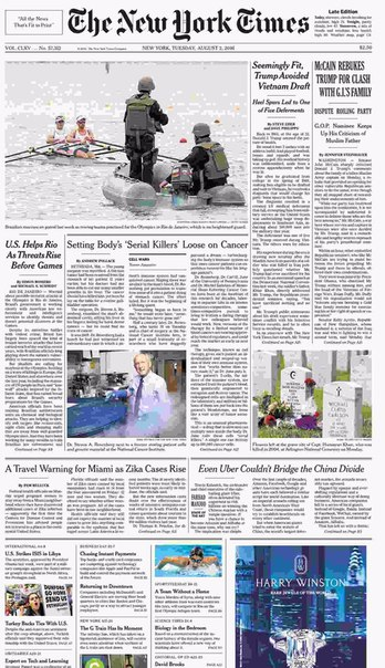 The New York Times  August 02 2016